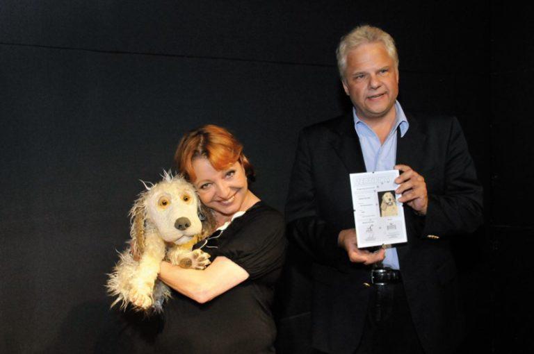Schauspielerin Manon Straché wird Puppenpatin